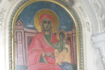 Η Ιερή εικόνα της Παναγίας εκ του Ιερού Ναού της Αγίας Αικατερίνης 'των πάντων ελπίς'