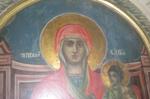 Η Ιερή εικόνα της Παναγίας εκ του Ιερού Ναού της Αγίας Αικατερίνης