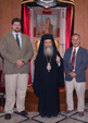 13/08/09 The representatives of the IOCC (International Orthodox Christian Charities, INC) visit the Patriarchate of Jerusalem