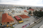 Panoramic view of the school in Madaba