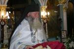 Ο Αρχιμ. Ιερεμίας, Εφημέριος του Ιερού Προσκυνήματος της Παναγίας Σγράπας