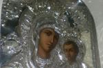 Η Ιερή εικόνα της Παναγίας Οδηγήτριας εκ του Ιερού Ναού της Αγίας Αικατερίνης