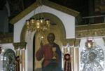 Άποψη του τέμπλου του Ιερού Ναού της Αγίας Αικατερίνης